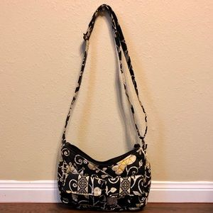 Vera Bradley yellow bird purse bag